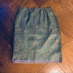 Old Navy 100% Silk Skirt (NWOT)